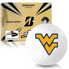 Bridgestone e12 Contact West Virginia Mountaineers Golf Balls
