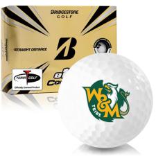 Bridgestone e12 Contact William & Mary Tribe Golf Balls