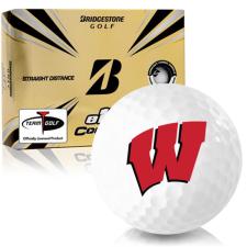 Bridgestone e12 Contact Wisconsin Badgers Golf Balls