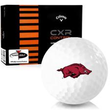 Callaway Golf CXR Control Arkansas Razorbacks Golf Balls