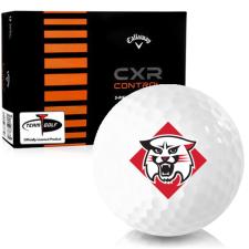 Callaway Golf CXR Control Davidson Wildcats Golf Balls