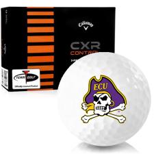 Callaway Golf CXR Control East Carolina Pirates Golf Balls
