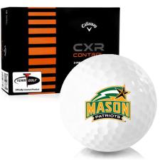 Callaway Golf CXR Control George Mason Patriots Golf Balls
