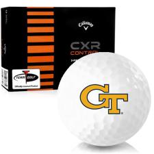 Callaway Golf CXR Control Georgia Tech Golf Balls