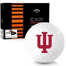 Callaway Golf CXR Control Indiana Hoosiers Golf Balls