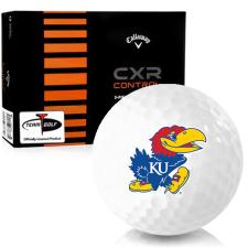 Callaway Golf CXR Control Kansas Jayhawks Golf Balls
