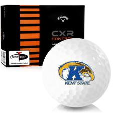 Callaway Golf CXR Control Kent State Golden Flashes Golf Balls