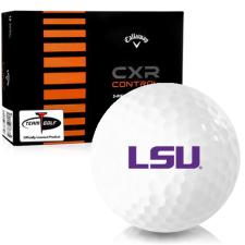 Callaway Golf CXR Control LSU Tigers Golf Balls