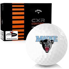 Callaway Golf CXR Control Maine Black Bears Golf Balls