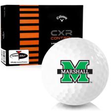 Callaway Golf CXR Control Marshall Thundering Herd Golf Balls
