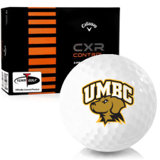 Callaway Golf CXR Control Maryland Baltimore County Retrievers Golf Balls