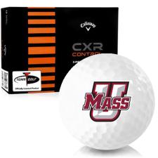 Callaway Golf CXR Control UMass Minutemen Golf Balls