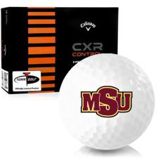 Callaway Golf CXR Control Midwestern State Mustangs Golf Balls