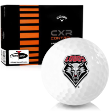 Callaway Golf CXR Control New Mexico Lobos Golf Balls