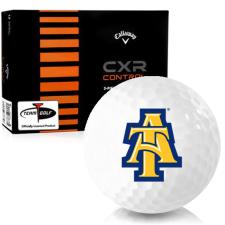 Callaway Golf CXR Control North Carolina A&T Aggies Golf Balls