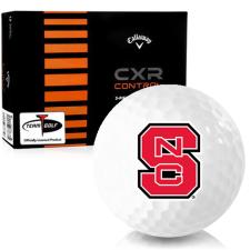 Callaway Golf CXR Control North Carolina State Wolfpack Golf Balls