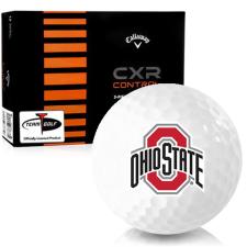 Callaway Golf CXR Control Ohio State Buckeyes Golf Balls