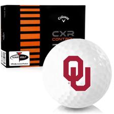 Callaway Golf CXR Control Oklahoma Sooners Golf Balls