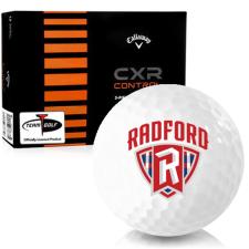 Callaway Golf CXR Control Radford Highlanders Golf Balls