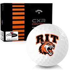 Callaway Golf CXR Control RIT - Rochester Institute of Technology Tigers Golf Balls
