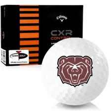 Callaway Golf CXR Control Southwest Missouri State Bears Golf Balls