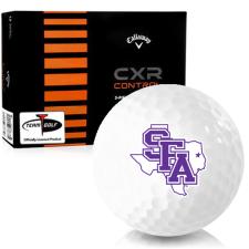 Callaway Golf CXR Control Stephen F. Austin Lumberjacks Golf Balls