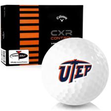Callaway Golf CXR Control Texas El Paso Miners Golf Balls
