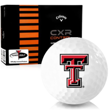 Callaway Golf CXR Control Texas Tech Red Raiders Golf Balls