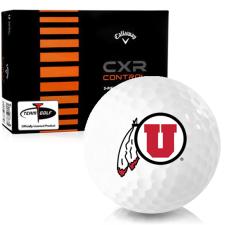 Callaway Golf CXR Control Utah Utes Golf Balls