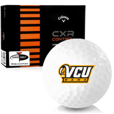 Callaway Golf CXR Control Virginia Commonwealth Rams Golf Balls