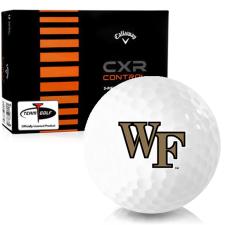 Callaway Golf CXR Control Wake Forest Demon Deacons Golf Balls
