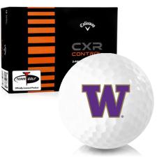 Callaway Golf CXR Control Washington Huskies Golf Balls