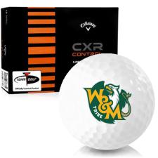 Callaway Golf CXR Control William & Mary Tribe Golf Balls