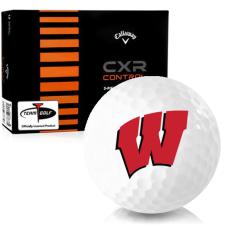 Callaway Golf CXR Control Wisconsin Badgers Golf Balls