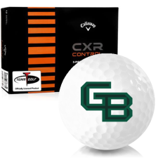Callaway Golf CXR Control Wisconsin Green Bay Phoenix Golf Balls