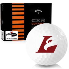 Callaway Golf CXR Control Wisconsin La Crosse Eagles Golf Balls
