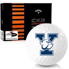 Callaway Golf CXR Control Yale Bulldogs Golf Balls