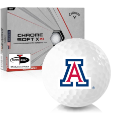 Callaway Golf Chrome Soft X LS Arizona Wildcats Golf Balls