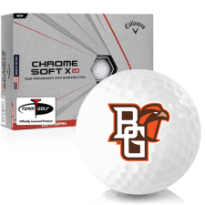 Callaway Golf Chrome Soft X LS Bowling Green Falcons Golf Balls