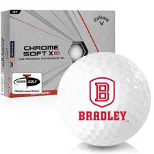 Callaway Golf Chrome Soft X LS Bradley Braves Golf Balls