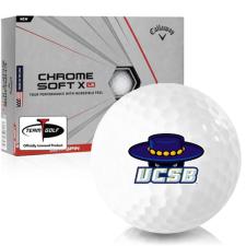 Callaway Golf Chrome Soft X LS Cal Santa Barbara Gauchos Golf Balls
