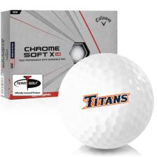 Callaway Golf Chrome Soft X LS Cal State Fullerton Titans Golf Balls