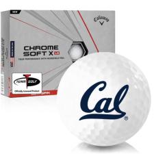 Callaway Golf Chrome Soft X LS California Golden Bears Golf Balls