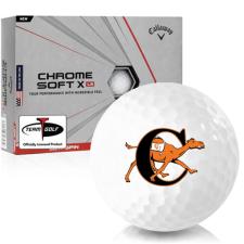 Callaway Golf Chrome Soft X LS Campbell Fighting Camels Golf Balls