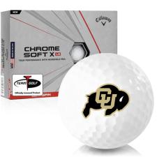 Callaway Golf Chrome Soft X LS Colorado Buffaloes Golf Balls