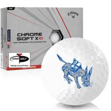 Callaway Golf Chrome Soft X LS Colorado School of Mines Orediggers Golf Balls