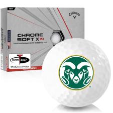 Callaway Golf Chrome Soft X LS Colorado State Rams Golf Balls