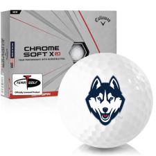 Callaway Golf Chrome Soft X LS UConn Huskies Golf Balls