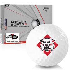 Callaway Golf Chrome Soft X LS Davidson Wildcats Golf Balls