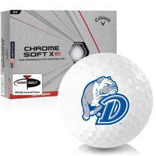 Callaway Golf Chrome Soft X LS Drake Bulldogs Golf Balls